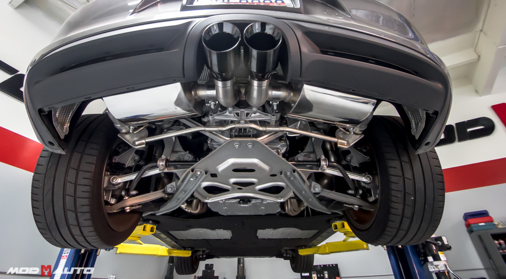 porsche boxster awe tuning exhaust beautiful set up