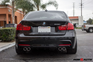 F30 335i | Remus Axle Back | Mstyle Performance Diffuser.
