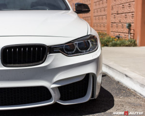 BMW F30 with a F80 M3 Style Bumper Upgrade.