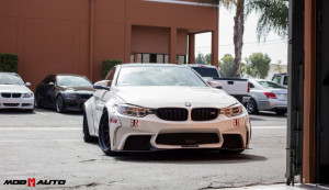 Evolution Racewerks M4 in the Mod Auto Facility.