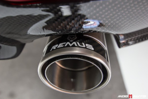 BMW F32 435 Remus Exhaust Install (Remus-Exhaust-BMW-F30-335i-TD3)