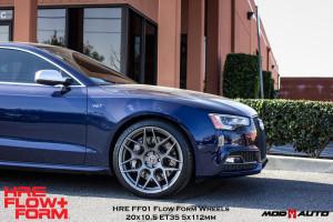 Audi S5 | HRE Flow Form FF01 20″ Tarmac Black