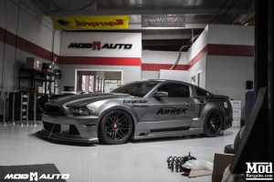 APR Unicorn.. I Mean Ford Mustang Widebody