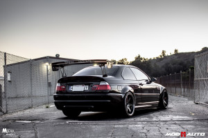 Customer Highlight : Gio's E46 M3 on Volks TE37's