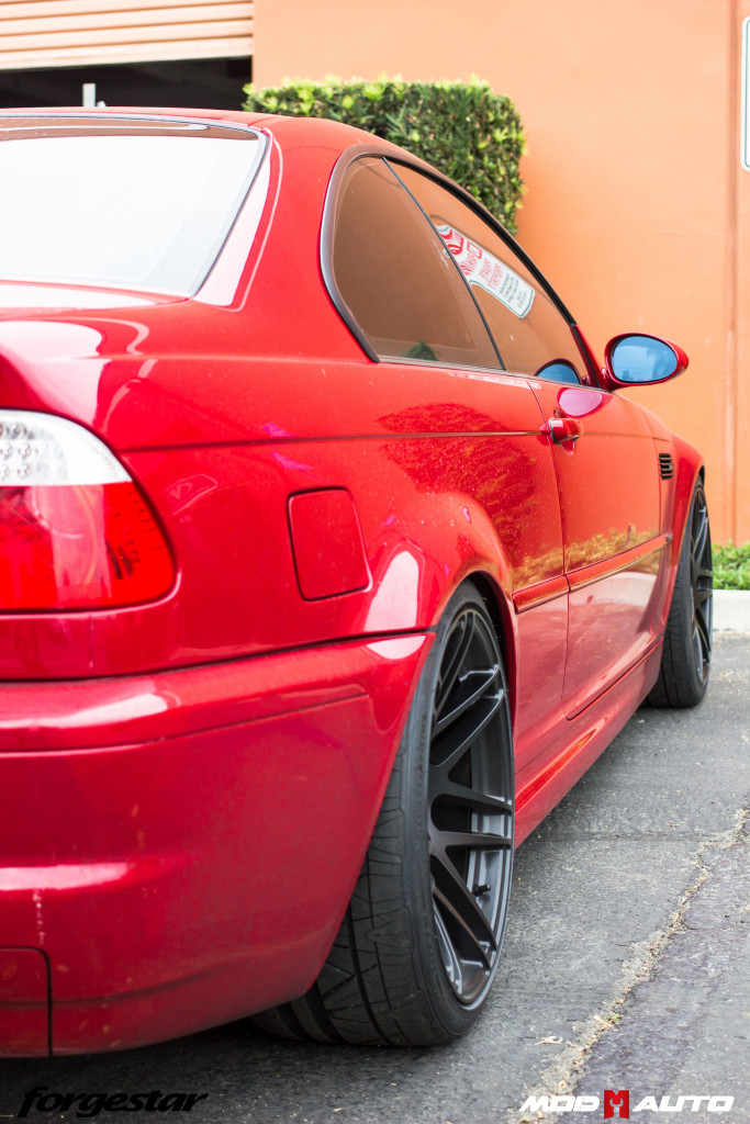 Bmw E46 M3 On Forgestar F14 Semi Gloss Black 19 215 8 5 19