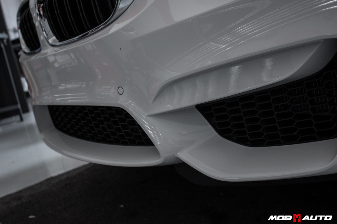 Brand New 2015 BMW M4 Comes To Mod Auto For V1 Front Lip